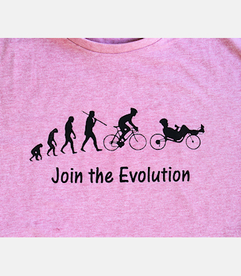 pink Tee Evolution crop